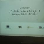 Warsztaty serowarskie 2014