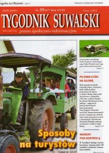 Tygodnik Suwalski str 1